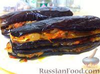 Фото к рецепту: Фаршированные баклажаны по-турецки