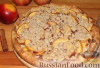 Фото к рецепту: Пирог с нектаринами