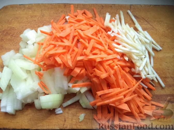 как варить гороховый суп с копченостями пошаговый рецепт