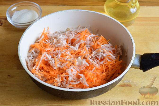 Фото приготовления рецепта: Котлеты из топинамбура - шаг №4