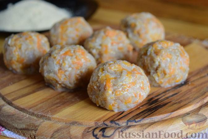 Фото приготовления рецепта: Котлеты из топинамбура - шаг №9