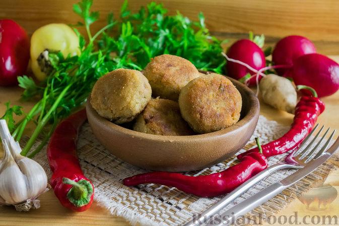 Фото приготовления рецепта: Котлеты из топинамбура - шаг №12