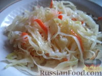Фото приготовления рецепта: Квашеная капуста (быстрый способ) - шаг №9