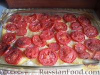 Фото к рецепту: Картофельная запеканка с макаронами