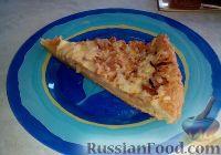 Фото к рецепту: Миланский пирог с яблоками и луком