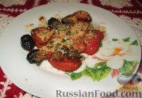 Фото к рецепту: Теплый гарнир из помидоров