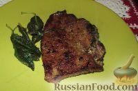 Фото к рецепту: Телячья печень с шалфеем