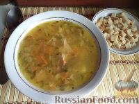 Фото к рецепту: Гороховый суп с копченостями
