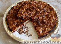Фото к рецепту: Быстрый пирог со сливами