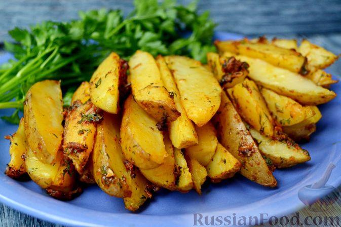 рецепт картошка по селянски в духовке