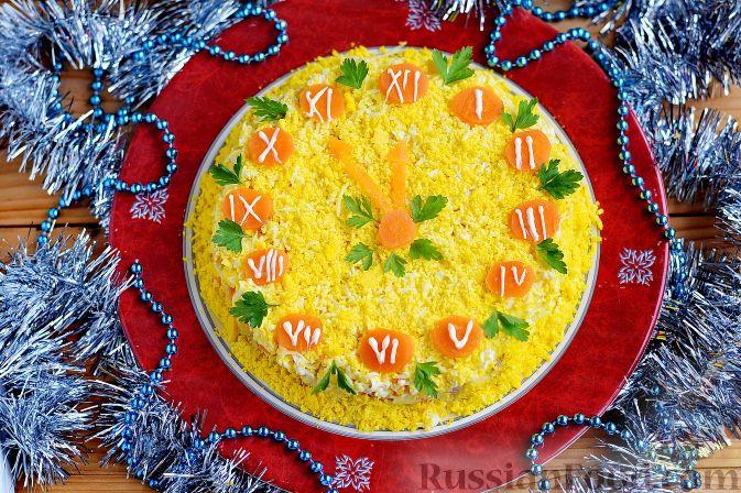 Новогодний салат из печени трески рецепты