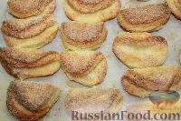 """Фото к рецепту: Творожное печенье """"Гусиные лапки"""""""