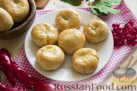Фото к рецепту: Кныш с картофелем