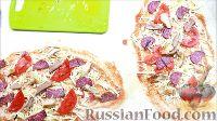 Фото приготовления рецепта: Пицца-ролл (быстрая пицца из лаваша) - шаг №10