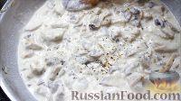 Фото приготовления рецепта: Жульен с курицей и грибами - шаг №11