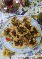 Фото к рецепту: Песочный пирог с творогом