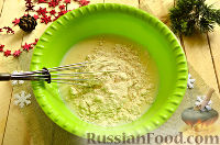 Фото приготовления рецепта: Новогодняя закуска «Мешочки Деда Мороза» - шаг №4