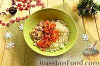 Фото приготовления рецепта: Новогодняя закуска «Мешочки Деда Мороза» - шаг №8