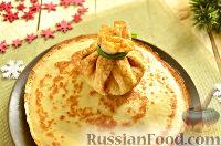 Фото приготовления рецепта: Новогодняя закуска «Мешочки Деда Мороза» - шаг №11