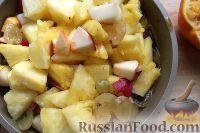 Фото приготовления рецепта: Фруктовый салат в ананасе - шаг №8