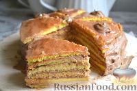 "Фото к рецепту: Торт ""Добош"""