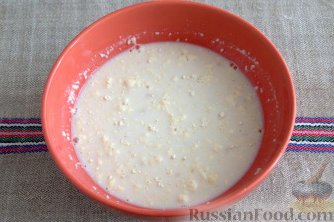 Фото приготовления рецепта: Открытый пирог с брусникой и яблоком - шаг №2