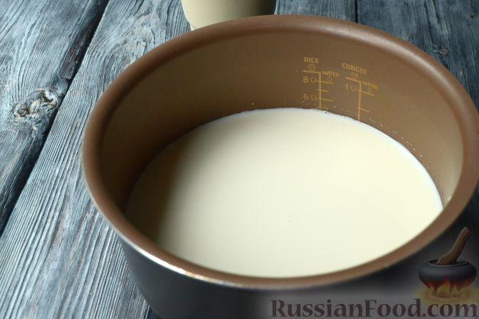 Топленое молоко в мультиварке или термосе рецепт 92