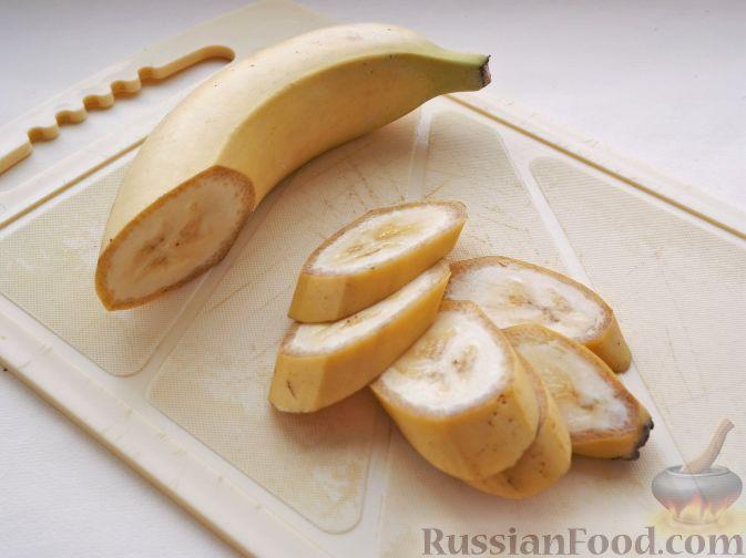 """Фото приготовления рецепта: Нарезка """"Петушиный хвост"""" из зимних фруктов, с орехами - шаг №6"""