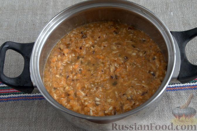Фото приготовления рецепта: Соус «Янтарный» из хрена (на зиму) - шаг №3