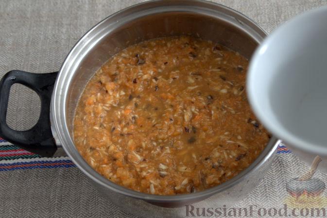 Фото приготовления рецепта: Соус «Янтарный» из хрена (на зиму) - шаг №4
