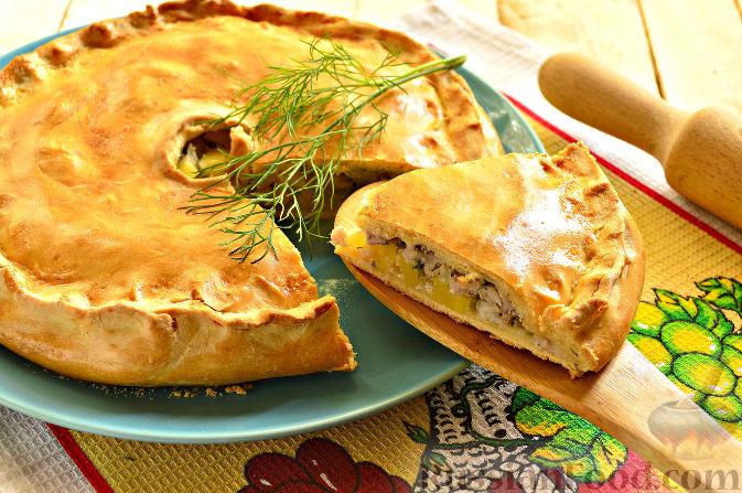 Нарезанный пирог рецепт