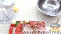 Фото приготовления рецепта: Домашняя куриная колбаса со свининой и сыром - шаг №1