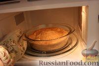 Фото приготовления рецепта: Шарлотка с яблоками (в микроволновке) - шаг №16