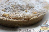 Фото приготовления рецепта: Шарлотка с яблоками (в микроволновке) - шаг №18