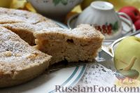 Фото приготовления рецепта: Шарлотка с яблоками (в микроволновке) - шаг №19