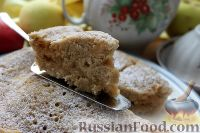 Фото приготовления рецепта: Шарлотка с яблоками (в микроволновке) - шаг №21