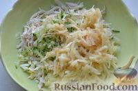 Фото приготовления рецепта: Праздничный салат «Три поросенка» для детей - шаг №7