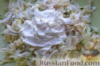 Фото приготовления рецепта: Праздничный салат «Три поросенка» для детей - шаг №10