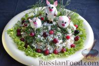 Фото приготовления рецепта: Праздничный салат «Три поросенка» для детей - шаг №15