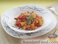 Фото к рецепту: Охотничье рагу по-французски, под голландским соусом