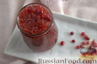 Фото к рецепту: Варенье из брусники с яблоками