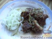 Фото к рецепту: Шашлык в казане (узбекская кухня)