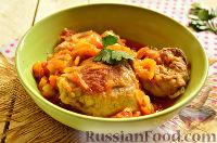Фото к рецепту: Яхния из курицы