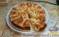 """Фото к рецепту: Шарлотка с яблоками """"От Архипыча"""""""
