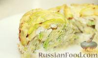 """Фото приготовления рецепта: Запеканка """"Касэрол"""" (Casserole) из кабачков с сыром - шаг №10"""