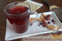 Фото к рецепту: Взвар (узвар) из яблок и ягод, с медом
