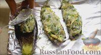 Фото приготовления рецепта: Баклажаны, запеченные с сыром (баклажаны Кучерикас) - шаг №6