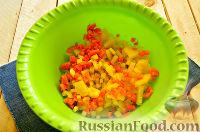 Фото приготовления рецепта: Салат «Петушок - Золотой Гребешок» с копченой колбасой - шаг №2