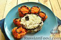 Фото приготовления рецепта: Салат «Петушок - Золотой Гребешок» с копченой колбасой - шаг №11