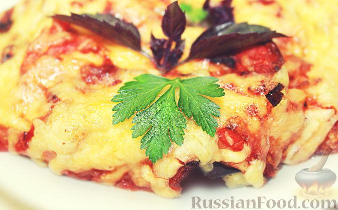рецепт рис с помидорами и сыром в духовке